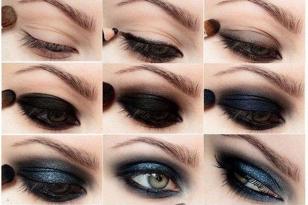 подводка глаз